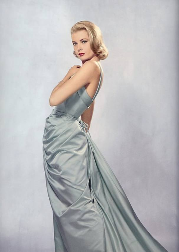 Голубое платье Грейс Келли