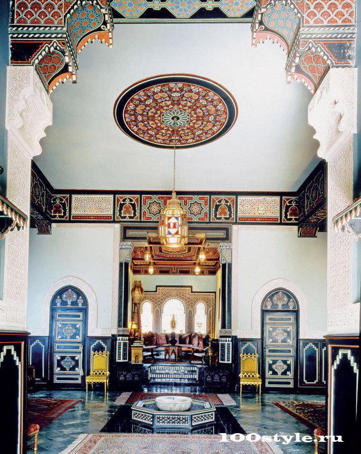 Марокканская коллекция Ив Сен-Лоран