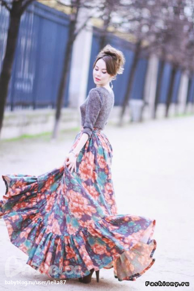 стильная женщина