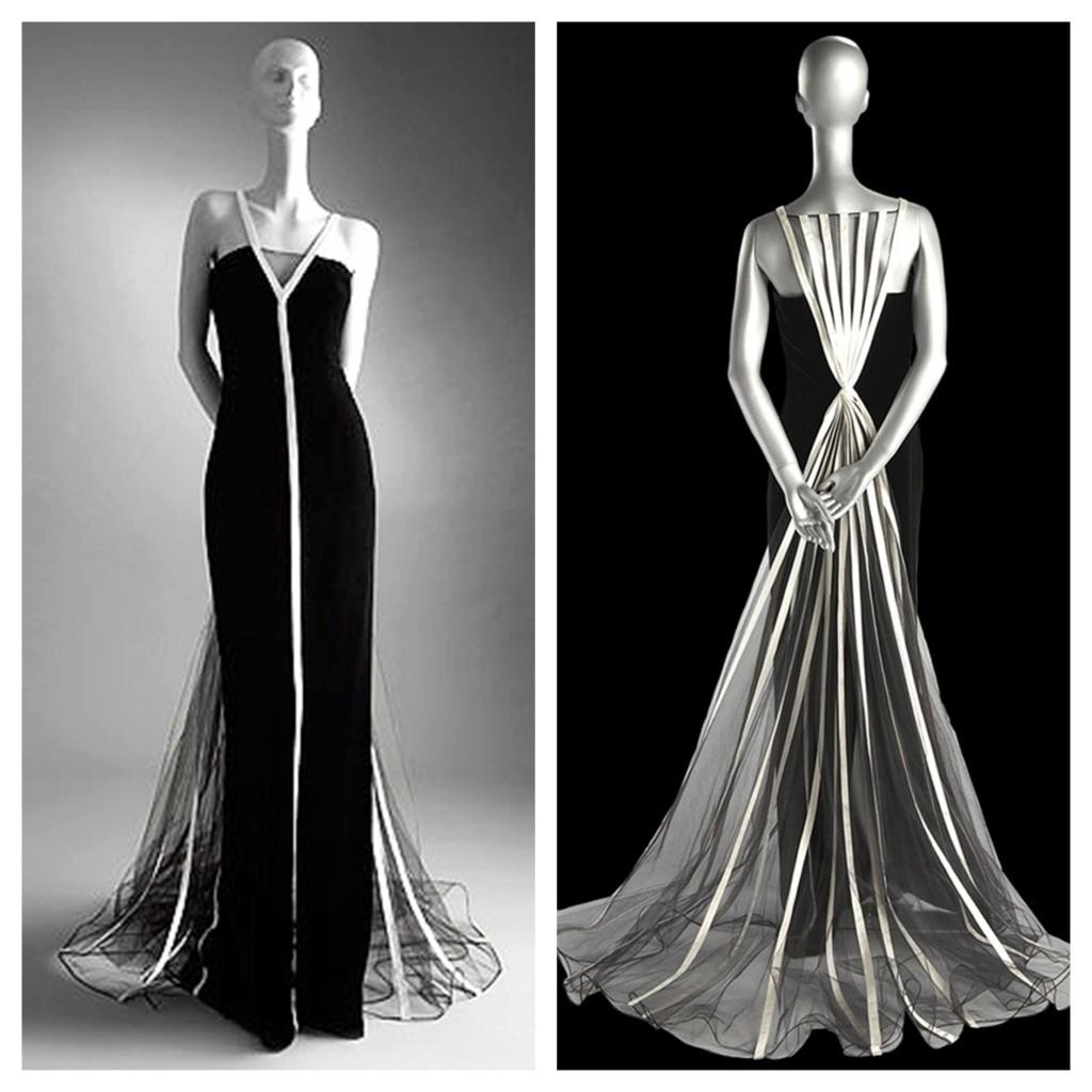 Винтажное платье от Валентино