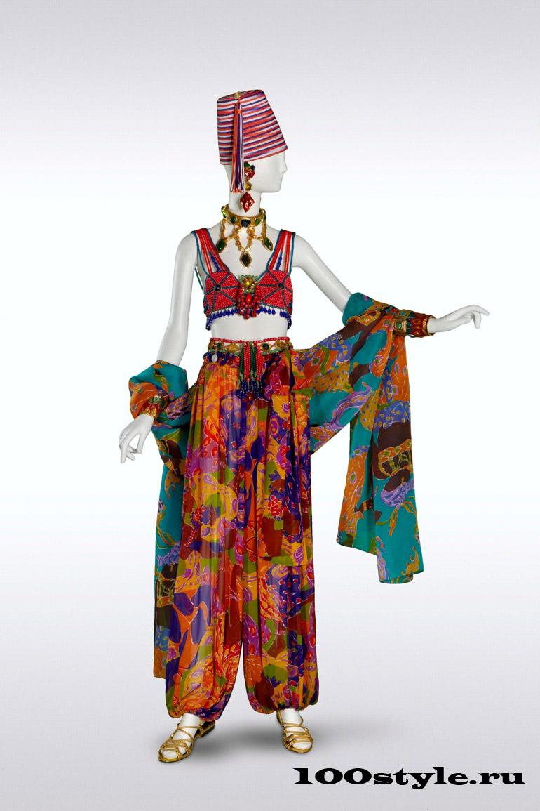 Ив Сен-Лоран Африканская коллекция