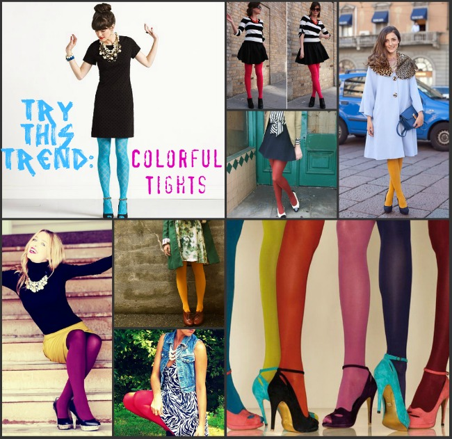Atrythistrendcolorfultights